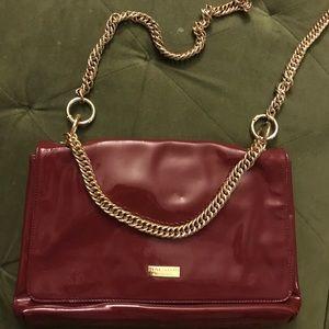 Halston Heritage Patent Leather Crossbody  Bag